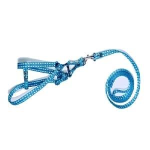 collar para perro mini naolon azul