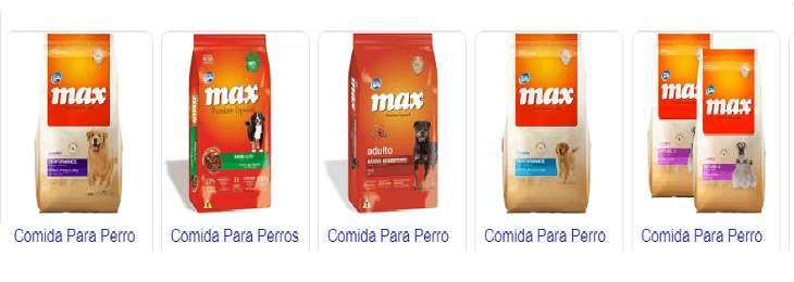 max mascotas alimento para perros