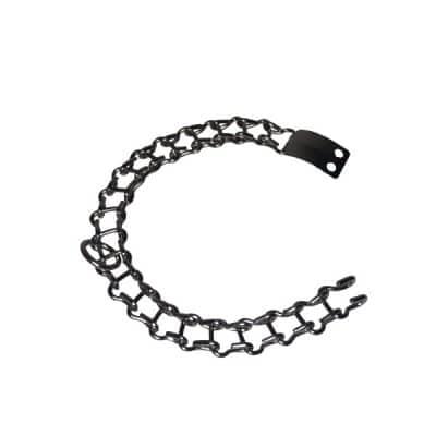collar para perro metalico mediano # 10