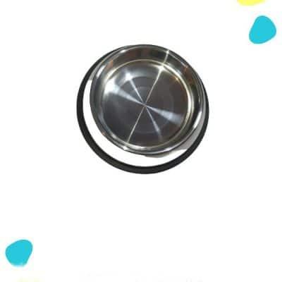 platos para perro metalicos medianos por mayor