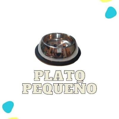 fabrica de platos para perro metalico pequeño